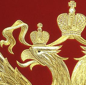 Двуглавый орел вышивка