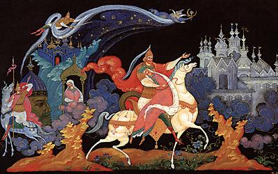 картинки палехская роспись